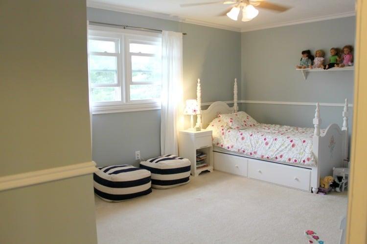 Wales Gray Little Girl's Room