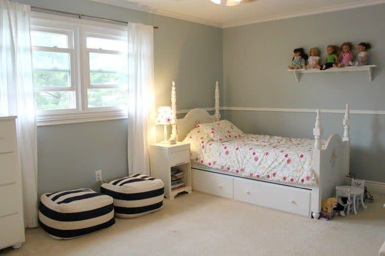 Benjamin Moore Beacon Gray Living Room