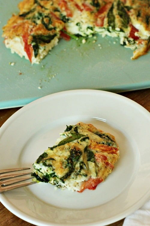 Egg White Vegetable Frittata