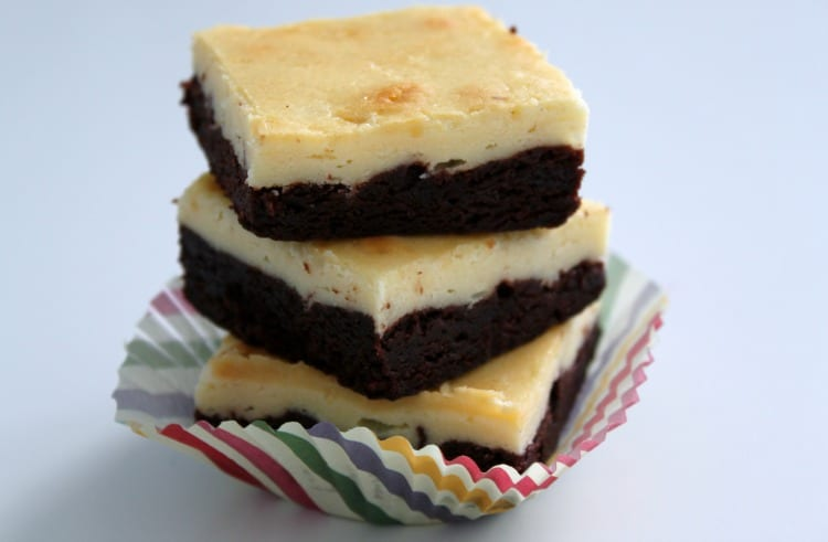 These cream cheese brownies are semi-homemade and taste like you've ...