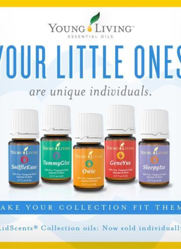 Young Living KidScents Oil Blends are now available for purchase individually!