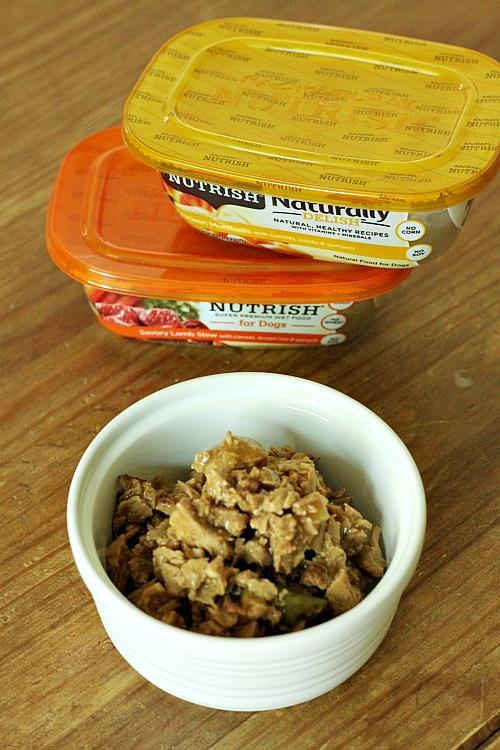 nutrish chicken paw pie