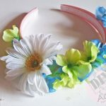 DIY Easy Girl's Floral Headband