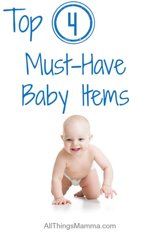 Top 4 Must-Have Baby Items you need!