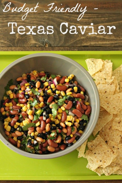 There's so many dishes I love to take to gatherings, but one that is super easy to make when you're in a time crunch or want to make on a budget is Texas Caviar!