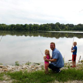 Outdoor Family Fishing Fun