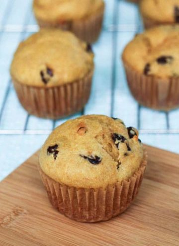 Try this amazing muffin recipe that uses yogurt to make the muffins moist and delicious - Cranberry Orange Muffins! Change up the yogurt flavor or add in different fruits and nuts to this recipe to make it your own!