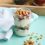 Fresh Berry and Coconut Granola Parfait
