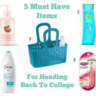 5 Must Have Items For Heading Back To College