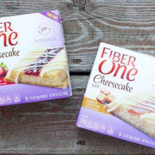 A Healthy Snack – Fiber One Cheesecake Bars