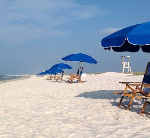Gulf State Park Beach