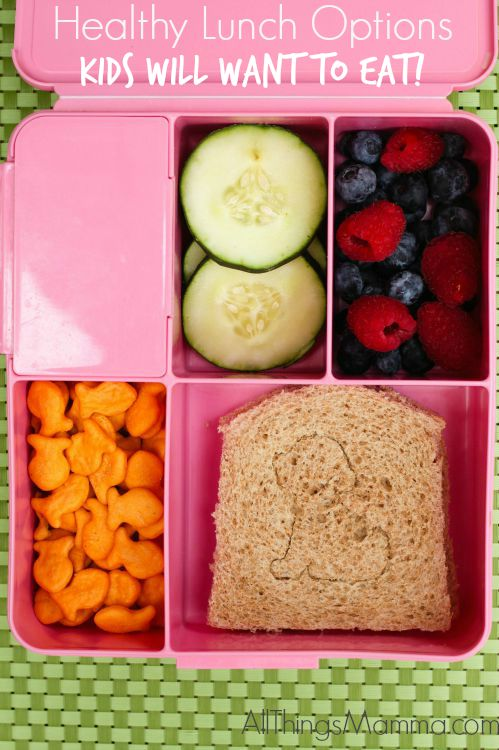Healthy Lunch Options - Kids will want to eat!