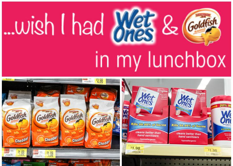 Wet Ones & Goldfish In My Lunchbox