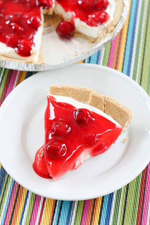 No Bake Graham Cracker Crust Pie