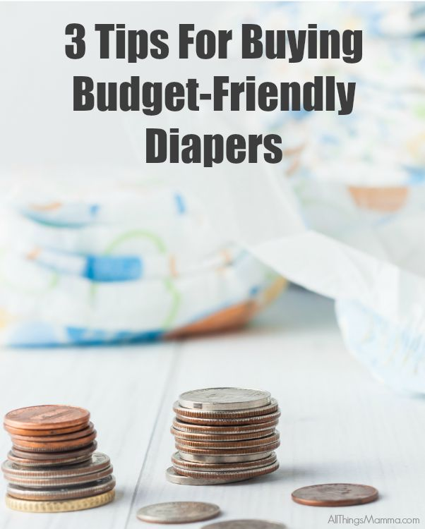 3 Tips for Buying Budget Friendly Diapers