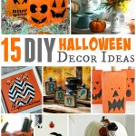 15 DIY Halloween Decor Ideas