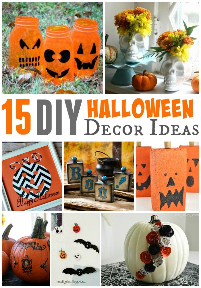 15 diy halloween decor ideas - Halloween decorations to make yourself ...
