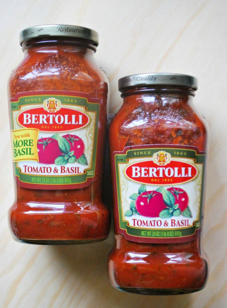 If I Can Use A Quality Product That Allows Me To Save Time I M All For It I Decided To Use Bertolli Tomato And Basil Pasta Sauce