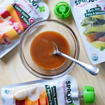 On the go with Sprout Organic Baby Food