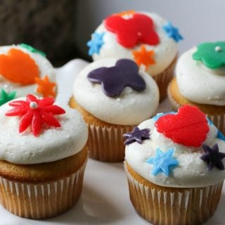 Airheads Candy Cupcakes