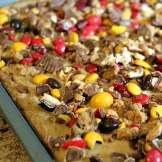 Harvest Style Candy Bar Cookie