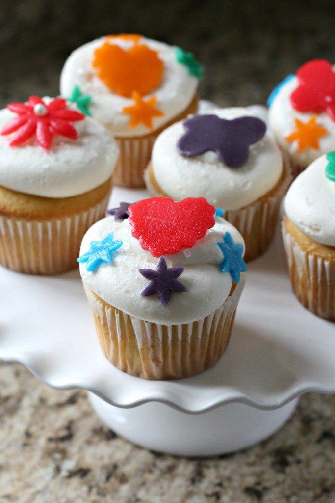 Air Head Cupcakes