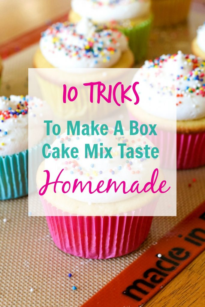 white wedding cake cupcakes from box mix 10 tricks to make a box cake mix taste all 27339