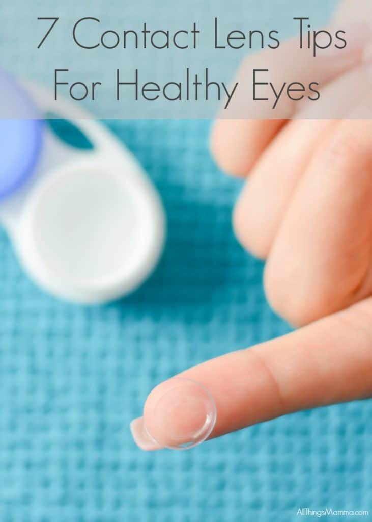 7 Contact Lens Tips For Healthy Eyes