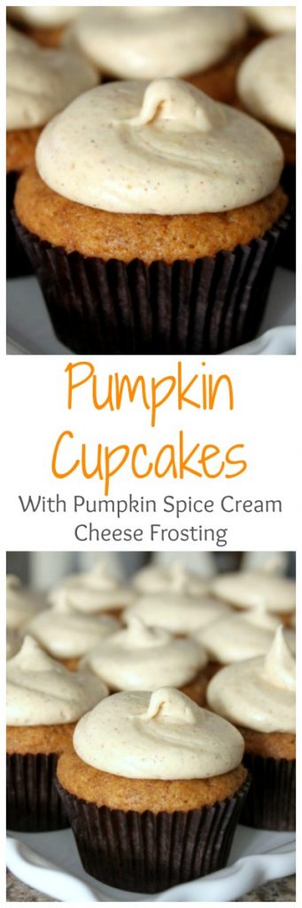 These pumpkin cupcakes are amazing!! Can't wait to make them again!