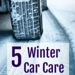 5 Easy Winter Car Care Tips