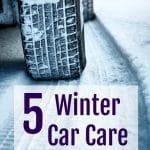 5 Easy Winter Car Care Tips
