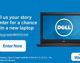 Enter To WIN!  Dell Inspiron Laptop