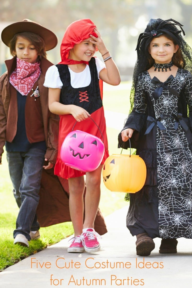 5 Cute Costume Ideas for Autumn Parties