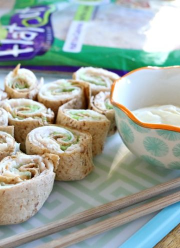 """Turkey and Cheese """"Sushi"""" Rolls"""