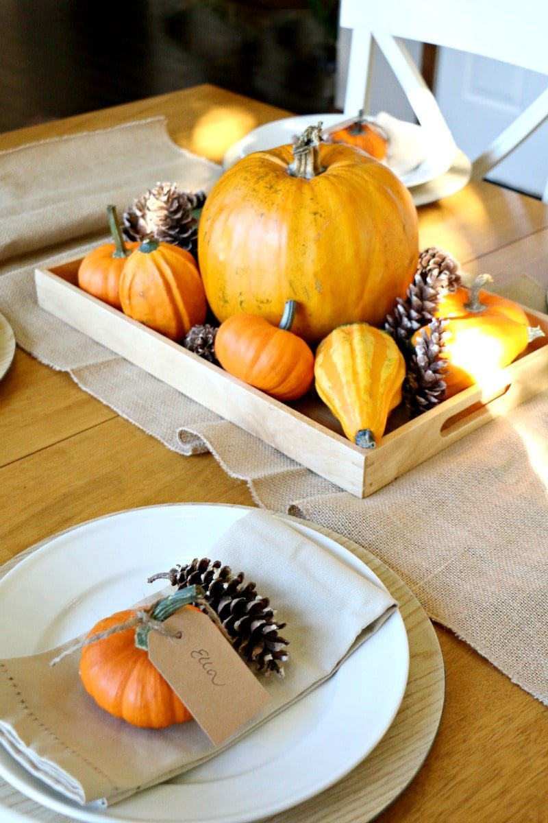 15 Easy Diy Thanksgiving Decorations All Things Mamma