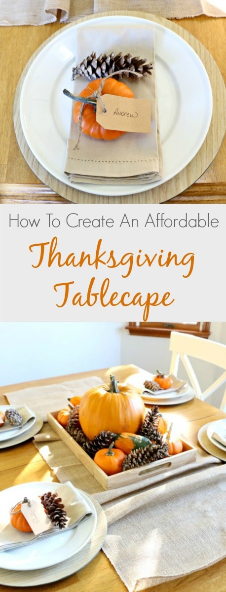 These Thanksgiving tablescapes are easy, affordable and beautiful!