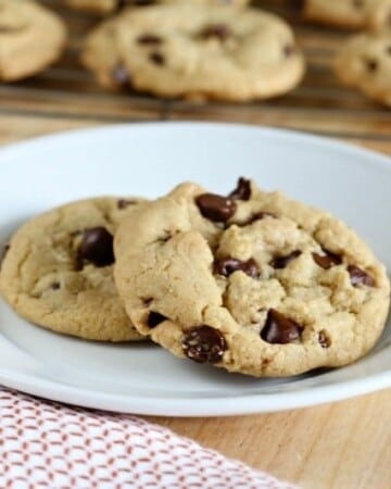 This is THE last Chocolate Chip Cookie recipe you have to try! It make THE Perfect Chocolate Chip Cookies!