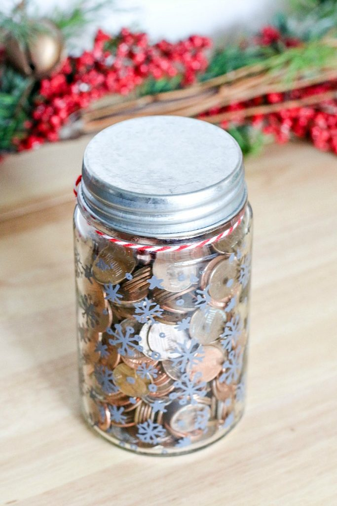Collect Change For Charity A great way to give back all year long is to collect your extra change in a jar