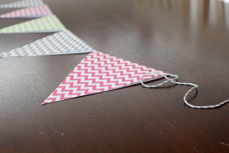 How to make Paper Bunting Tutorial