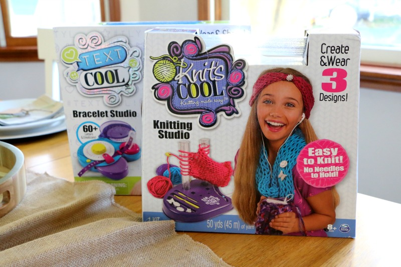 Cool Brands - Text Cool and Knit Cool make the perfect holiday gift for young girls!