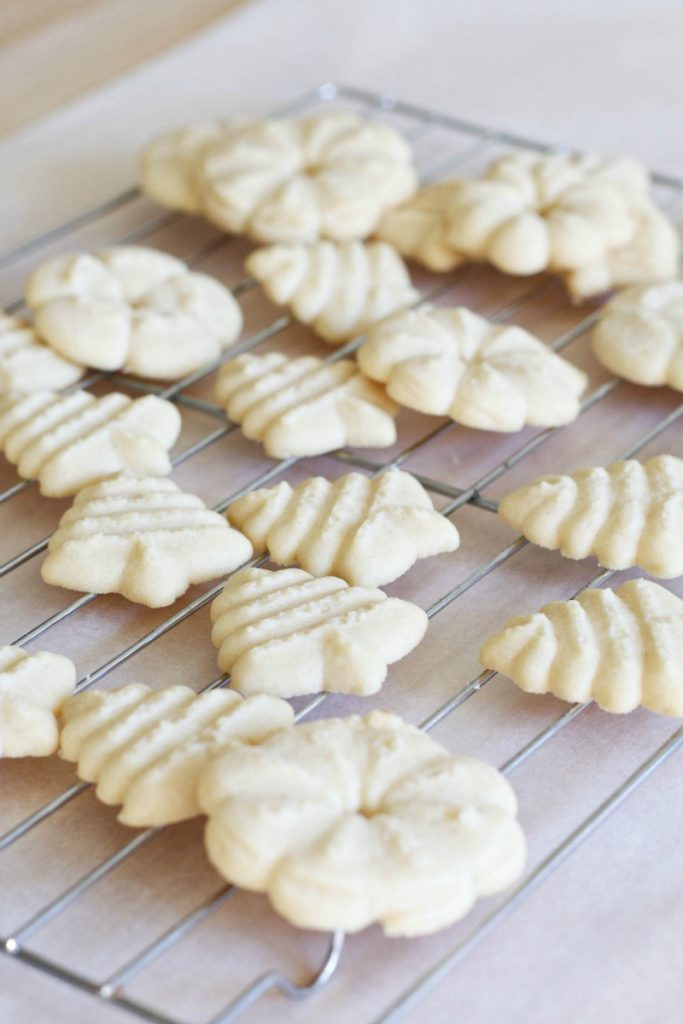 Classic Spritz Cookies are a great way to add variety to your cookie trays this year!