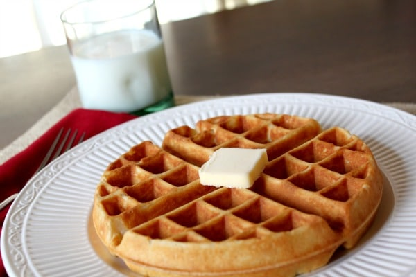Homemade Waffles are a must-have for your weekend brunch!