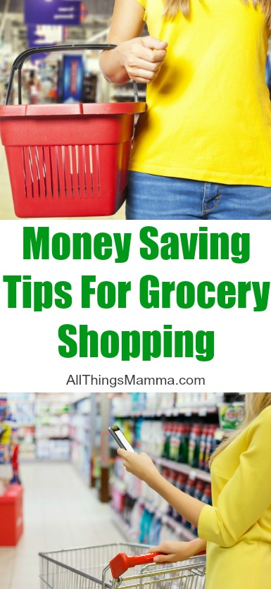 4 Money Saving Tips for Grocery Shopping that can help save you time, money and keep your sanity!