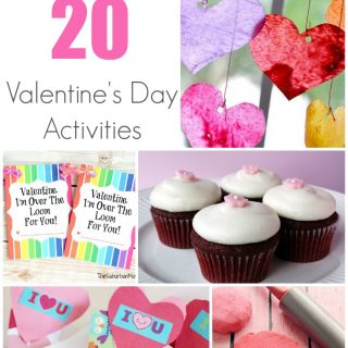 20 of THE BEST Valentine's Day Activities from around the web!