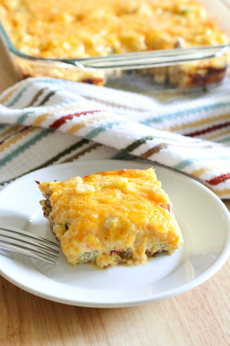 Can You Cook Breakfast Casserole In A Cake Pan