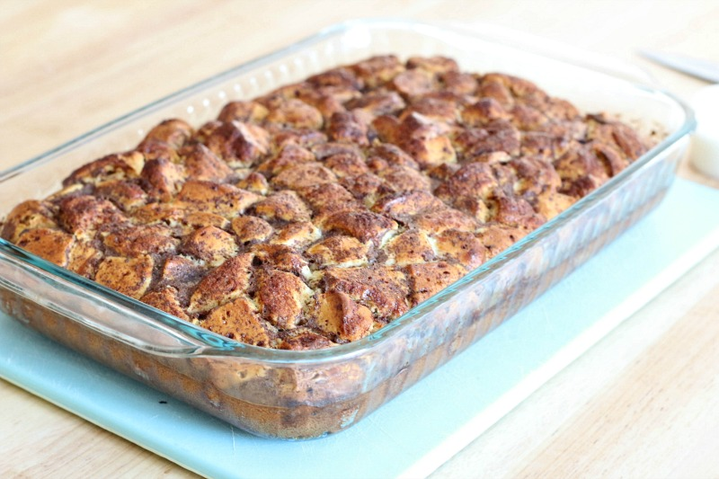 This Homemade Cinnamon Roll French Toast Casserole Is Easy To Make And Tastes Amazing Here S