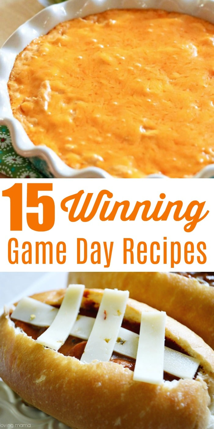 15 Quick and Easy Game Day Recipes