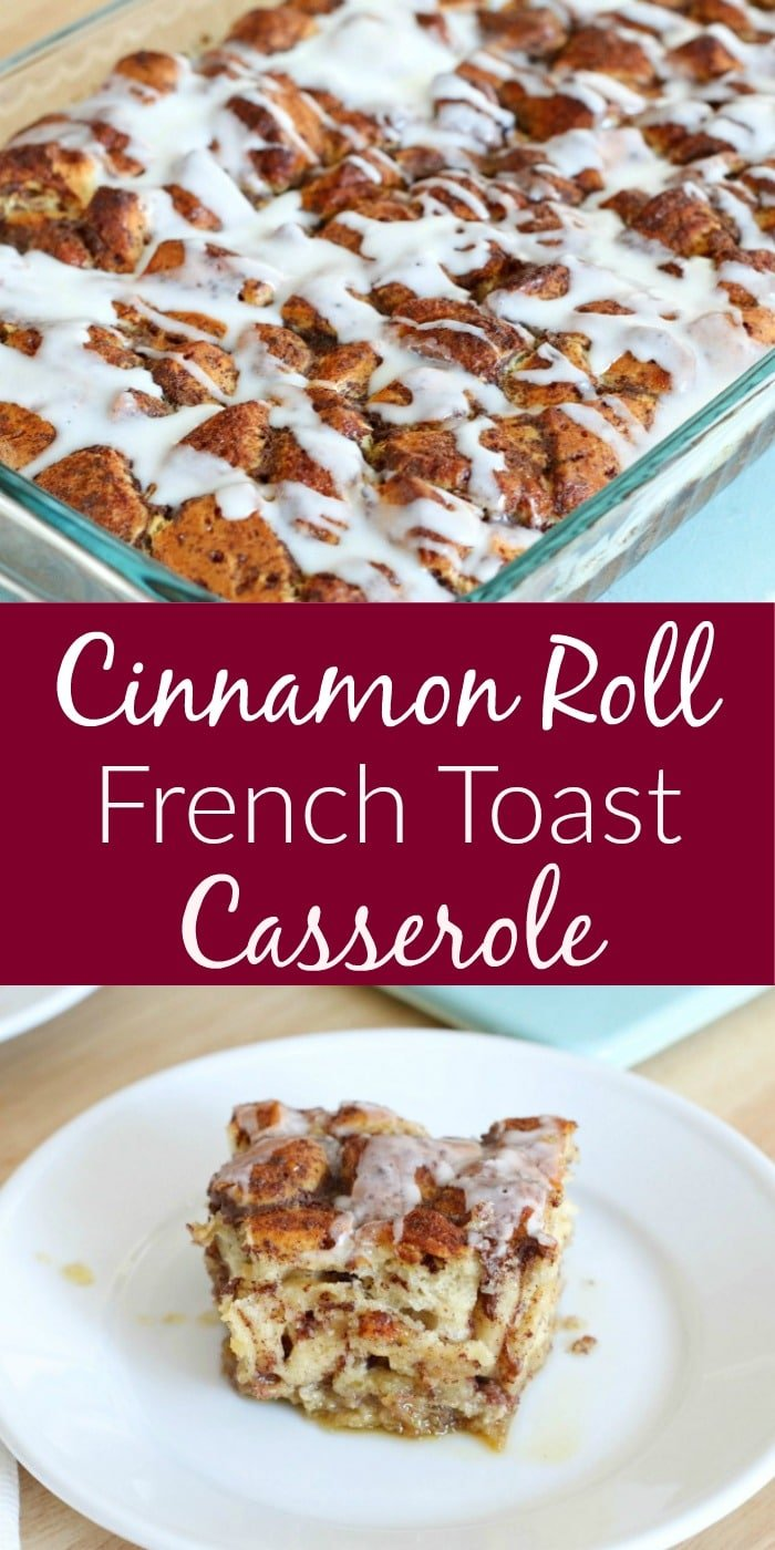This homemade Cinnamon Roll French Toast Casserole is easy to make and tastes amazing! Here's my review of the Tasty Video on making this yummy casserole in your own home!