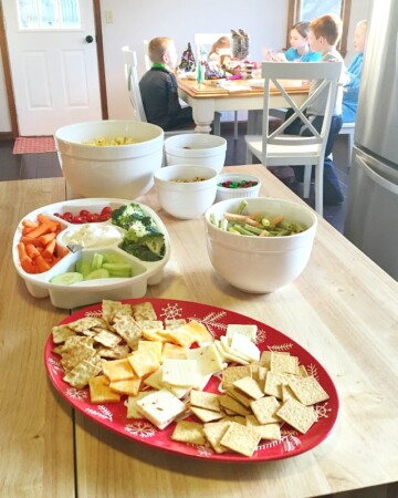Healthy food options for kids