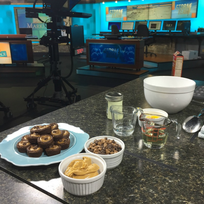 Peanut Butter Cup Brownies on Good Day Marketplace